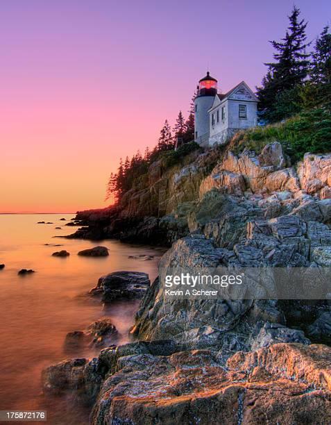 Pastel Bass Harbor Lighthouse