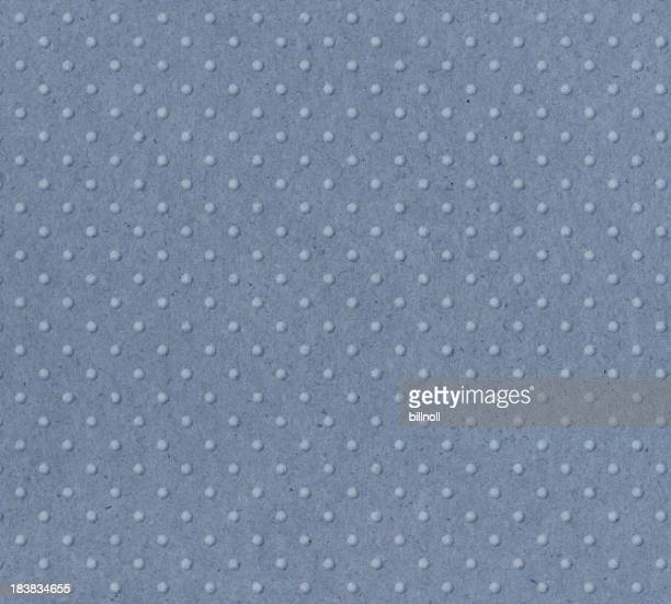 pastel blue paper with raised dots