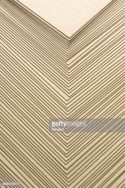 Pastel Gold Paper Stacking Background