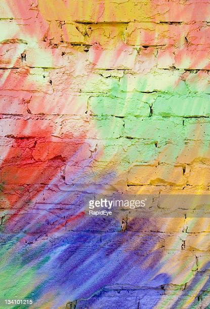 Pastellfarbene graffiti Hintergrund (XL