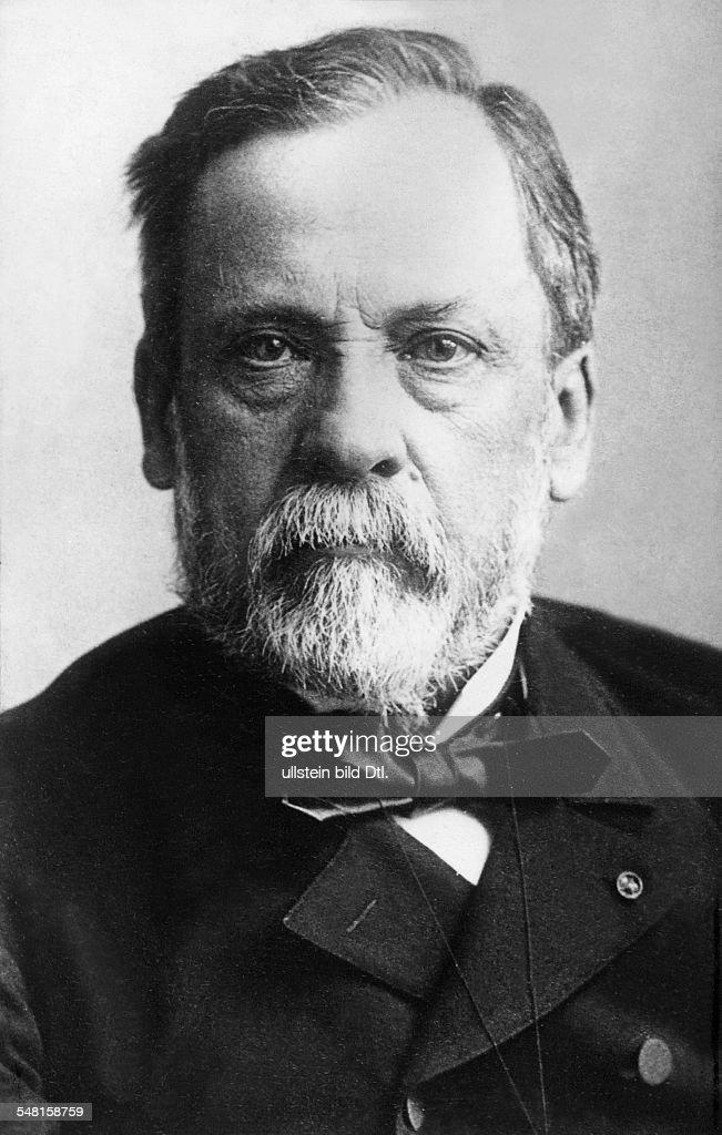 Pasteur, Louis - *1822-1895+ - Wissenschaftler, Chemiker, Mikrobiologe, Frankreich - Portrait - undatiert