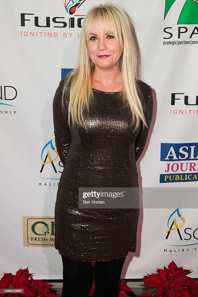 Pastor April Belt attends the Span Philippines Relief And Fusion Global Fundraiser at Malibu West Beach Club on December 15, 2013 in Malibu, California.