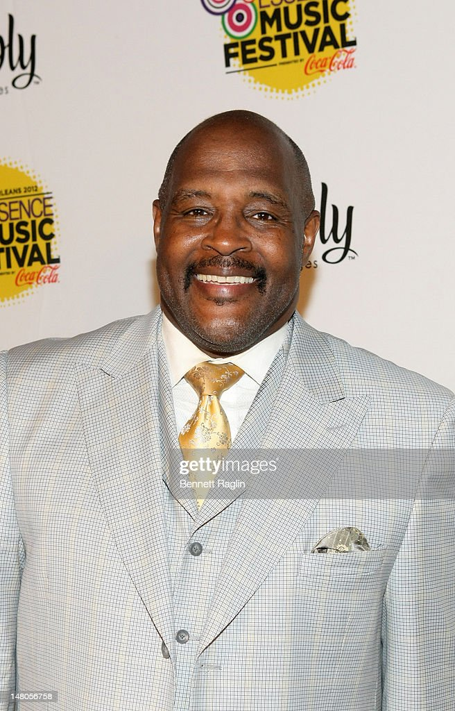Pastor <a gi-track='captionPersonalityLinkClicked' href=/galleries/search?phrase=Marvin+Winans&family=editorial&specificpeople=4367927 ng-click='$event.stopPropagation()'>Marvin Winans</a> attends the 2012 Essence Music Festival at Ernest N. Morial Convention Center on July 8, 2012 in New Orleans, Louisiana.