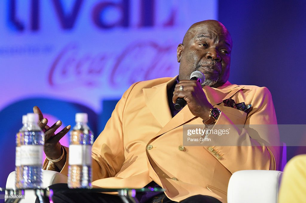 Pastor T. D. Jakes speaks onstage at the 2016 ESSENCE Festival Presented By Coca-Cola at Ernest N. Morial Convention Center on July 1, 2016 in New Orleans, Louisiana.