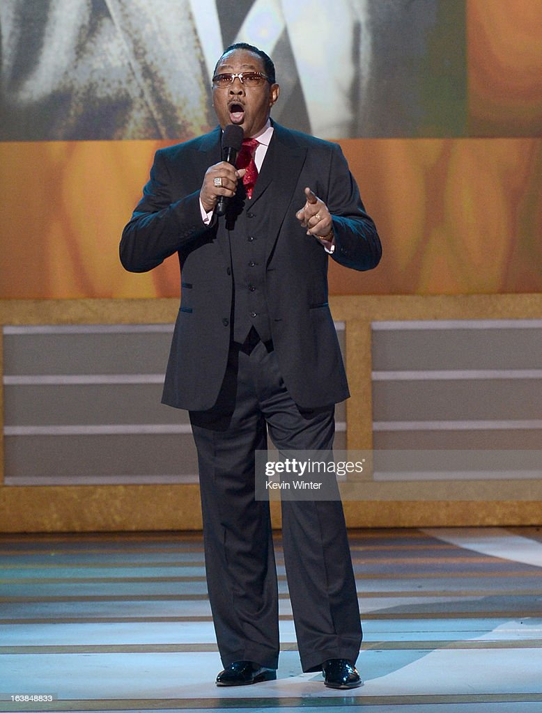 Pastor/singer Dr. Bobby Jones performs onstage during the BET Celebration of Gospel 2013 at Orpheum Theatre on March 16, 2013 in Los Angeles, California.