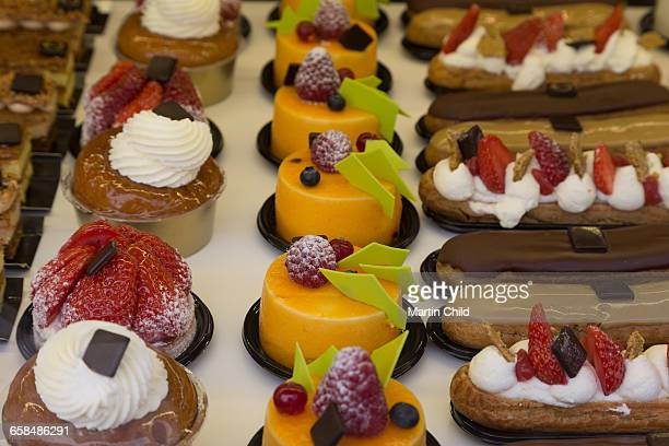 Pastries for sale in Biarritz
