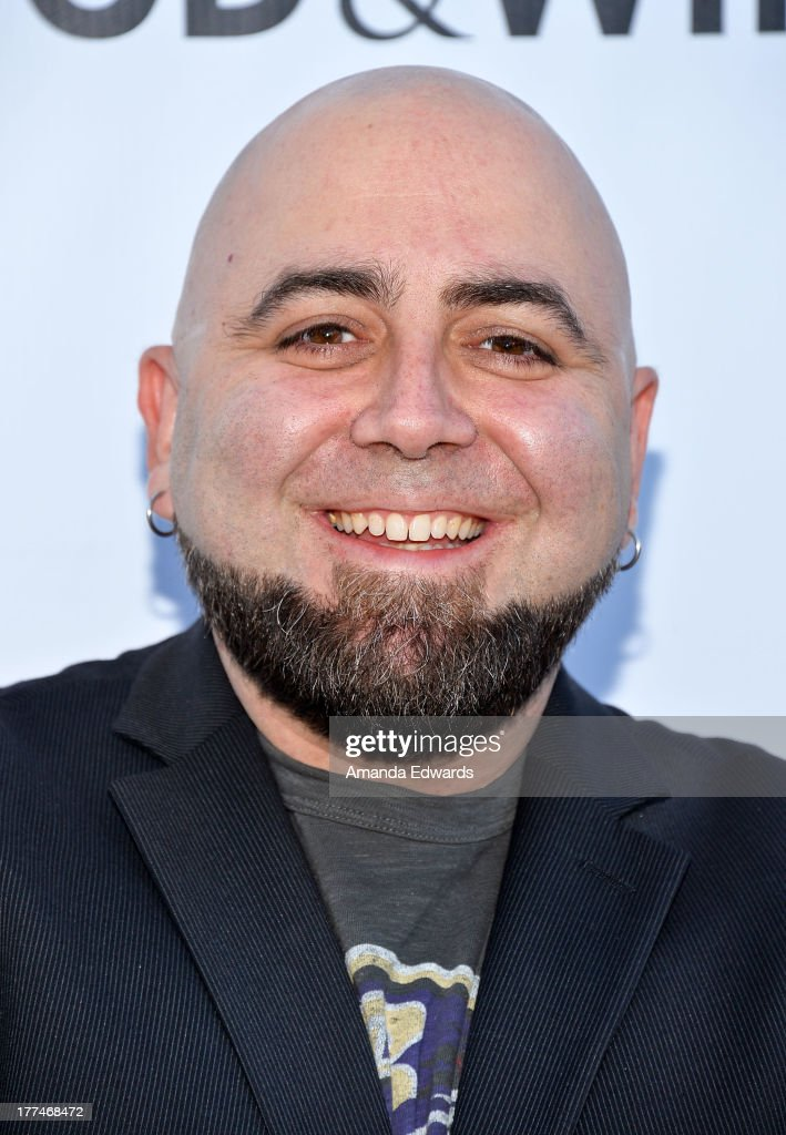 Pastry chef <a gi-track='captionPersonalityLinkClicked' href=/galleries/search?phrase=Duff+Goldman&family=editorial&specificpeople=5366392 ng-click='$event.stopPropagation()'>Duff Goldman</a> arrives at the opening night of the 2013 Los Angeles Food & Wine Festival - 'Festa Italiana With Giada De Laurentiis' on August 22, 2013 in Los Angeles, California.