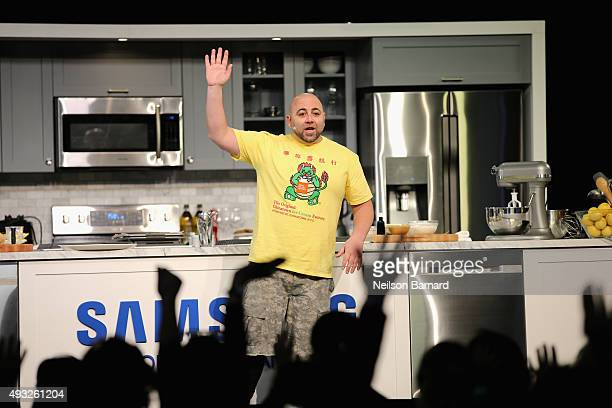 Pastry chef Duff Goldman attends the Grand Tasting presented by ShopRite featuring Samsung Culinary Demonstrations presented by MasterCard® Food...
