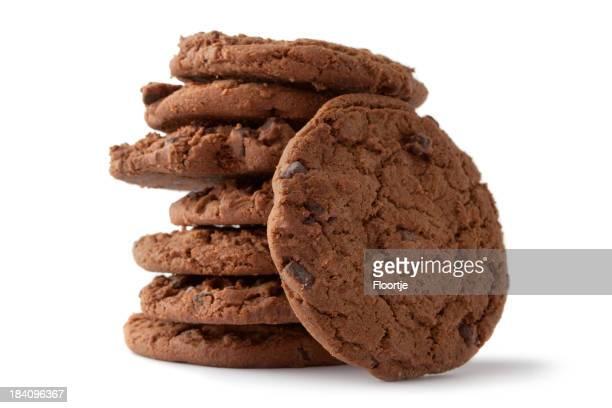 Folheado com Creme: Biscoito de Chocolate