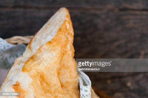 Pastry with cheese : Bildbanksbilder