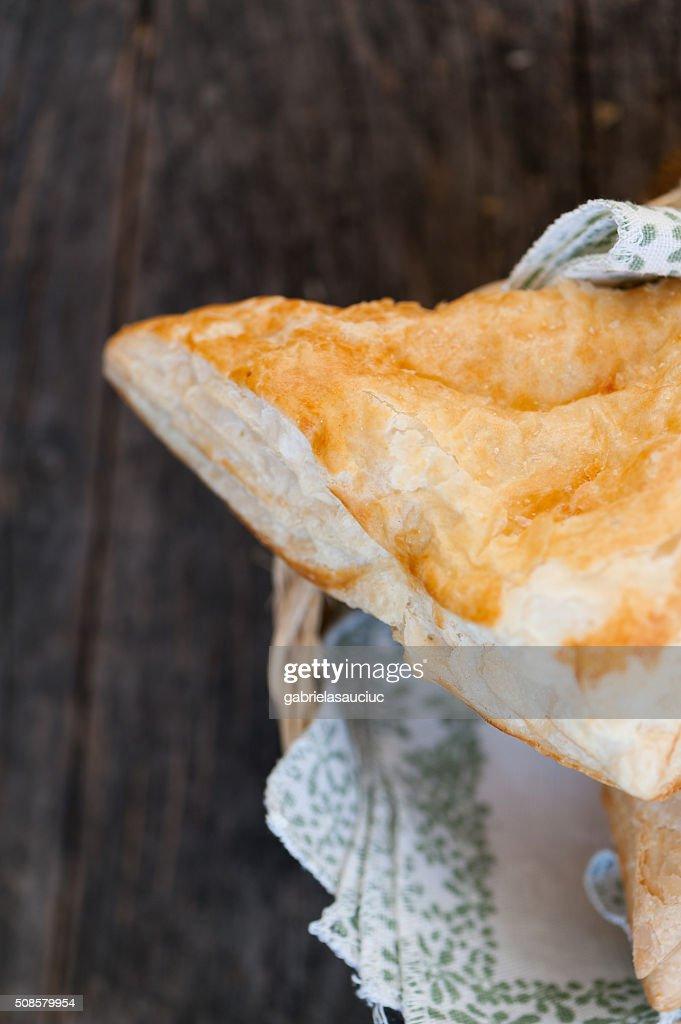 Torta alla crema di formaggio : Foto stock