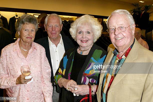 Pat and Jerry McClellan with Nora and Dr James Johnson
