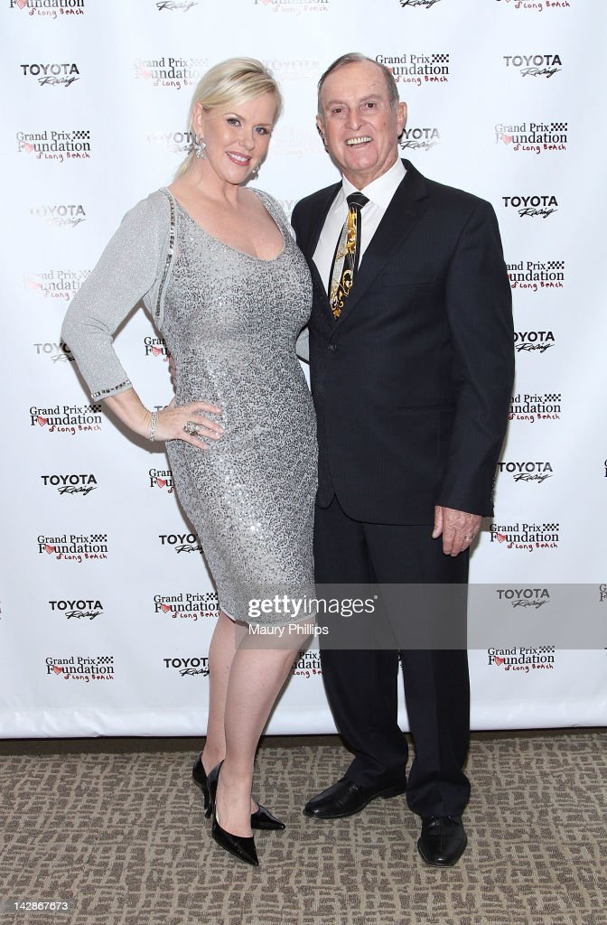 Pat Bondurant and Bob Bondurant arrive at the Toyota Charity Ball on April 13, 2012 in Long Beach, California.