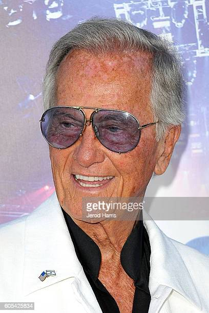 Pat Boone arrives at the Premiere Of Pure Flix Entertainment's 'Hillsong Let Hope Rise' at Mann Village Theatre on September 13 2016 in Westwood...