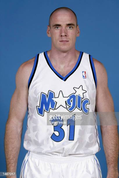 Pat Burke of the Orlando Magic poses for a portrait during Media Day on September 30 2002 at TD Waterhouse Centre in Orlando Florida NOTE TO USER...