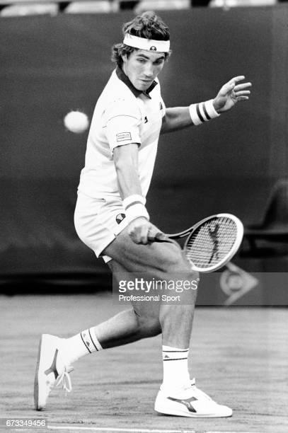 Pat Cash of Australia in action circa 1983