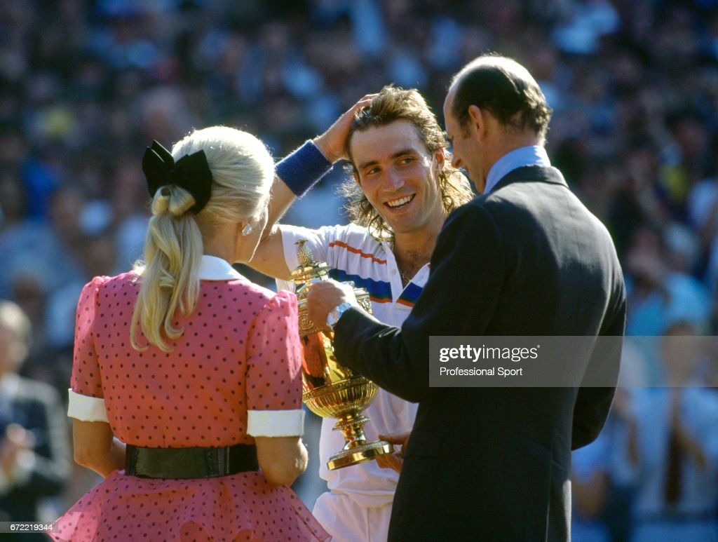 Pat Cash Wimbledon Champion