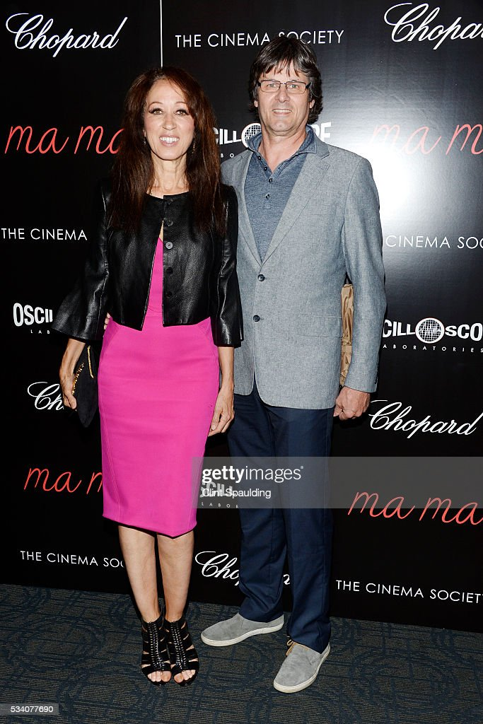Pat Cleveland and Paul von Ravenstein attend The Cinema Society and Chopard Host a Screening of Oscilloscope's 'ma ma' at Landmark Sunshine Theatre on May 24, 2016 in New York City.