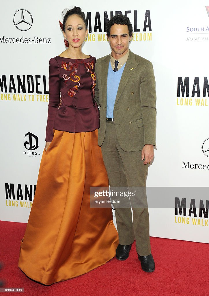 <a gi-track='captionPersonalityLinkClicked' href=/galleries/search?phrase=Pat+Cleveland+-+Model&family=editorial&specificpeople=592076 ng-click='$event.stopPropagation()'>Pat Cleveland</a> and Zac Posen attend the New York premiere of