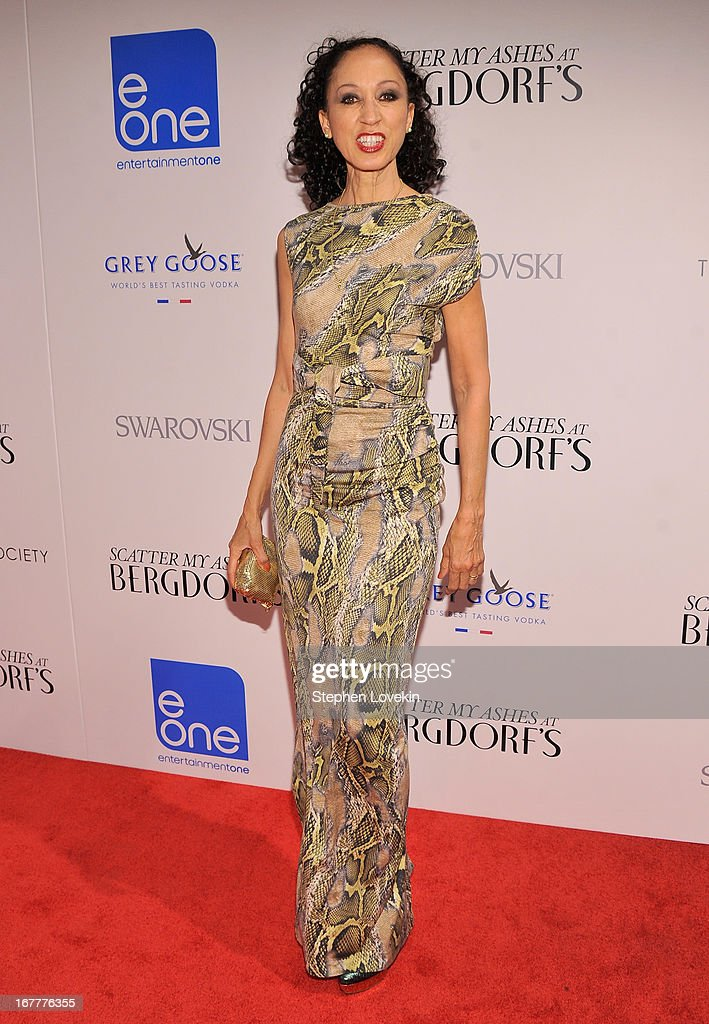 Pat Cleveland attends the Cinema Society with Swarovski & Grey Goose premiere of eOne Entertainment's 'Scatter My Ashes At Bergdorf's' at Florence Gould Hall on April 29, 2013 in New York City.