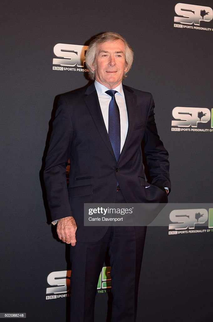 <a gi-track='captionPersonalityLinkClicked' href=/galleries/search?phrase=Pat+Jennings&family=editorial&specificpeople=225090 ng-click='$event.stopPropagation()'>Pat Jennings</a> on the red carpet before the BBC Sports Personality of the Year award at Odyssey Arena on December 20, 2015 in Belfast, Northern Ireland.