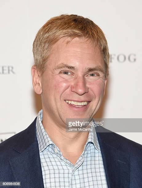Pat Kiernan attends 'The Dressmaker' New York Screening at Florence Gould Hall Theater on September 16 2016 in New York City
