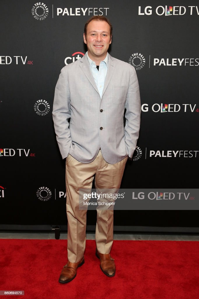 Pat King attends PaleyFest NY 2017 - 'Full Frontal With Samantha Bee' at The Paley Center for Media on October 12, 2017 in New York City.
