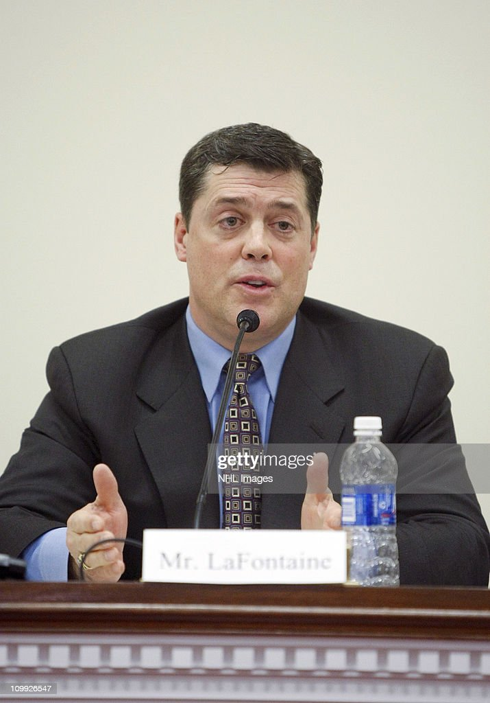 Pat LaFontaine attends the Congressional Hockey Caucus Briefing at the Rayburn House Office Building on March 10, 2011 in Washington, DC.
