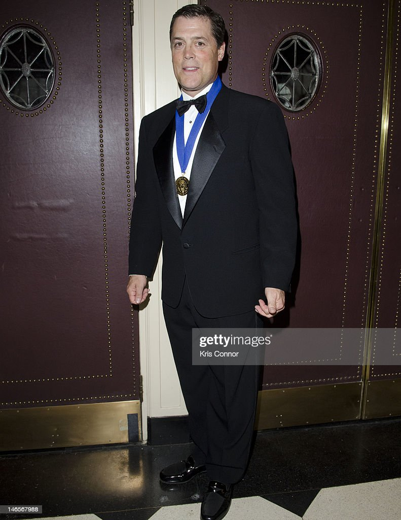 Pat LaFontaine poses for a photo during the 40th Annual Jefferson Awards on June 19, 2012 in Washington, United States.