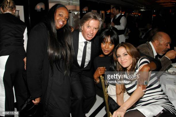 Pat McGrath Richard Caring Naomi Campbell and Jennifer Lopez attend Le Caprice Preview Dinner at Le Caprice on October 21 2009 in New York City