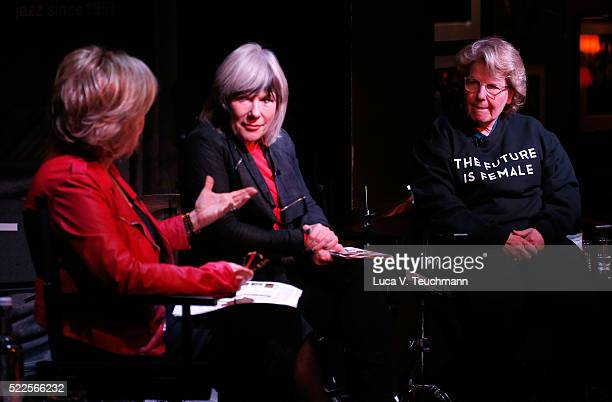 Pat Mitchell UK Maker Global TEDWomen Conference Jude Kelly Artistic Director Southbank Centre London and Sandi Toksvig writer actor comedian...
