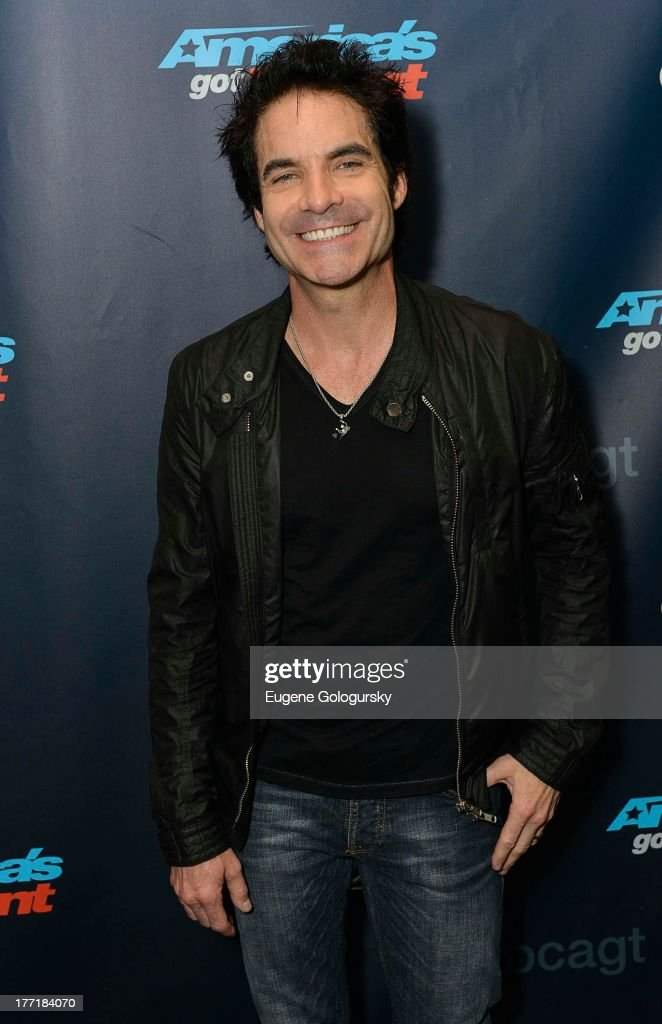 Pat Monahan attends the 'America's Got Talent' post show red carpet at Radio City Music Hall on August 21, 2013 in New York City.