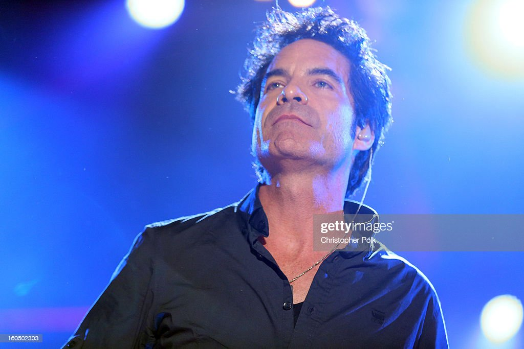 Pat Monahan of Train performs during the VH1 Best Super Bowl Concert Ever at Sugar Mill on February 1, 2013 in New Orleans, Louisiana.