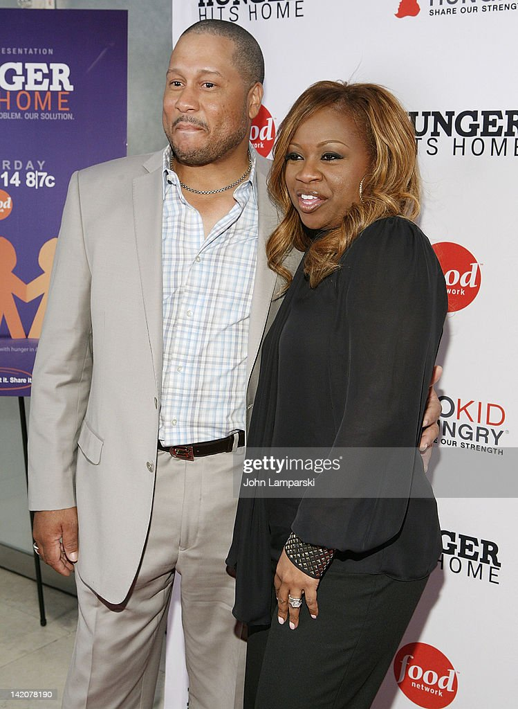 Pat Neely and Gina Neely attend the 'Hunger Hits Home' screening at the Hearst Screening Room on March 29, 2012 in New York City.