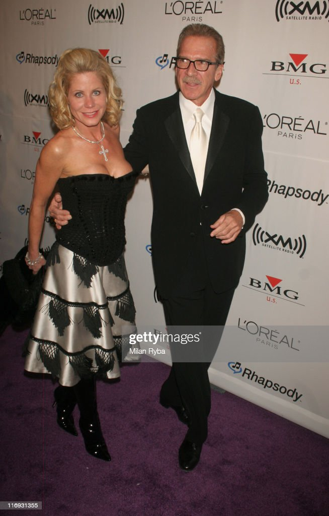 Pat O'Brien and Guest during 2006 Grammy Awards Clive Davis Party at Beverly Hilton Hotel in Beverly Hills California United States