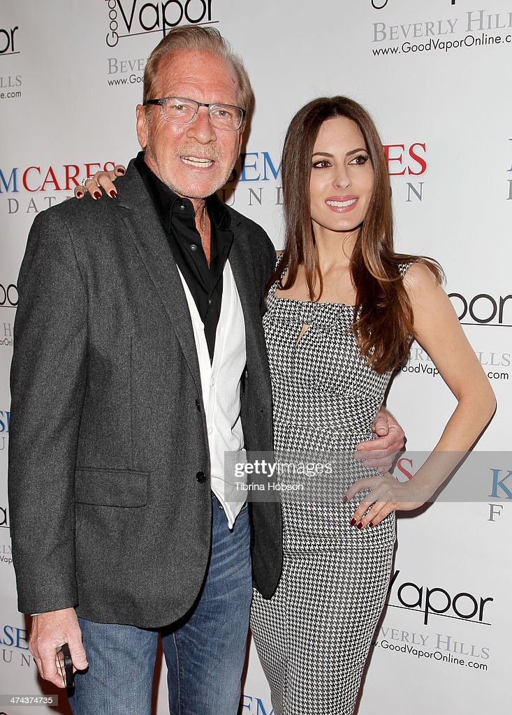 Pat O'Brien and Kerri Kasem attend the Kasem cares foundation fundraiser on February 22 2014 in Beverly Hills California