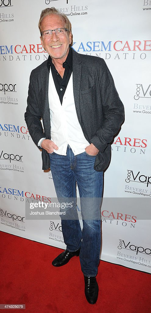 Pat O'Brien arrives at the Kasem Cares Foundation's 1st Annual Fundraiser on February 22 2014 in Beverly Hills California