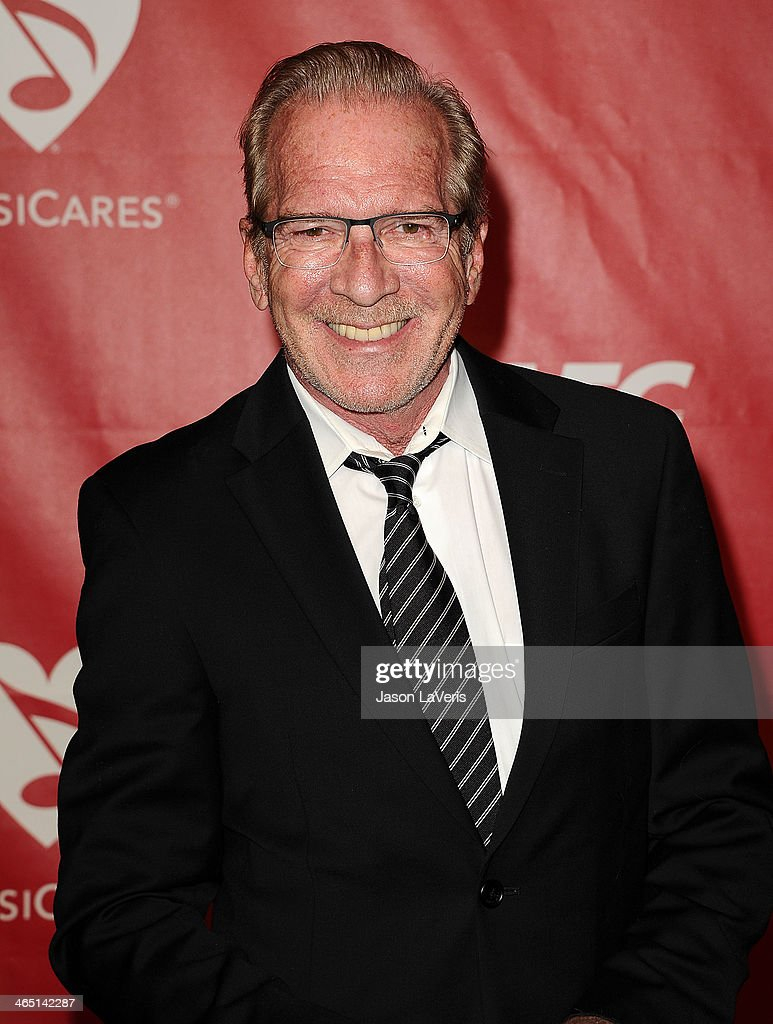 Pat O'Brien attends the 2014 MusiCares Person of the Year honoring Carole King at Los Angeles Convention Center on January 24 2014 in Los Angeles...