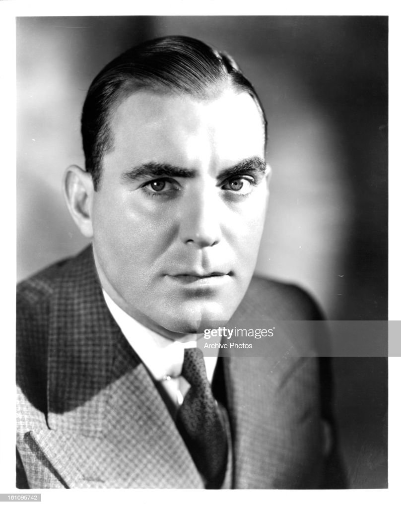 Pat O'Brien in publicity portrait for the film 'The Front Page' 1931