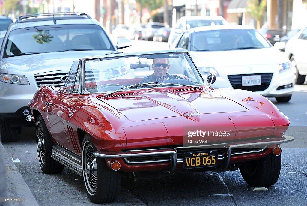 Pat O'Brien is seen on November 3, 2013 in Los Angeles, California.