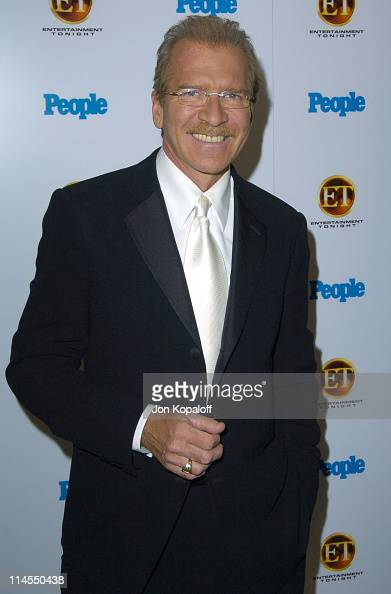 Pat O'Brien of 'The Insider' during Entertainment Tonight Emmy Party Sponsored by People Magazine Arrivals at The Mondrian in West Hollywood...