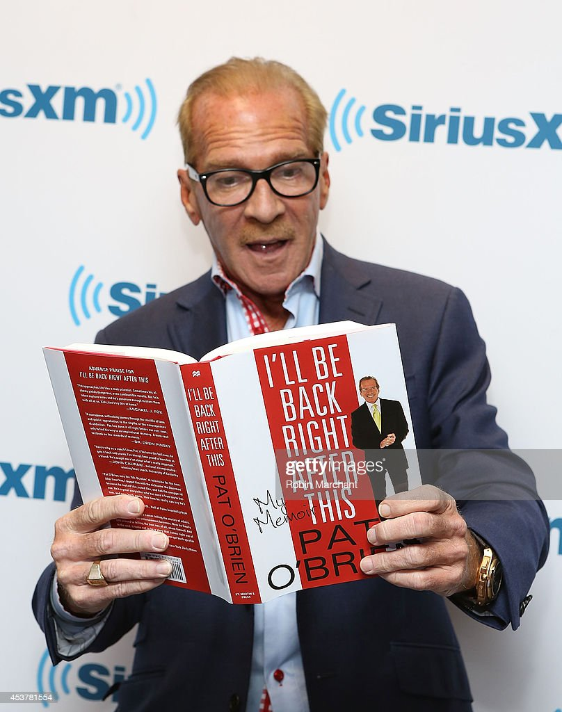 Pat O'Brien visits at SiriusXM Studios on August 18 2014 in New York City