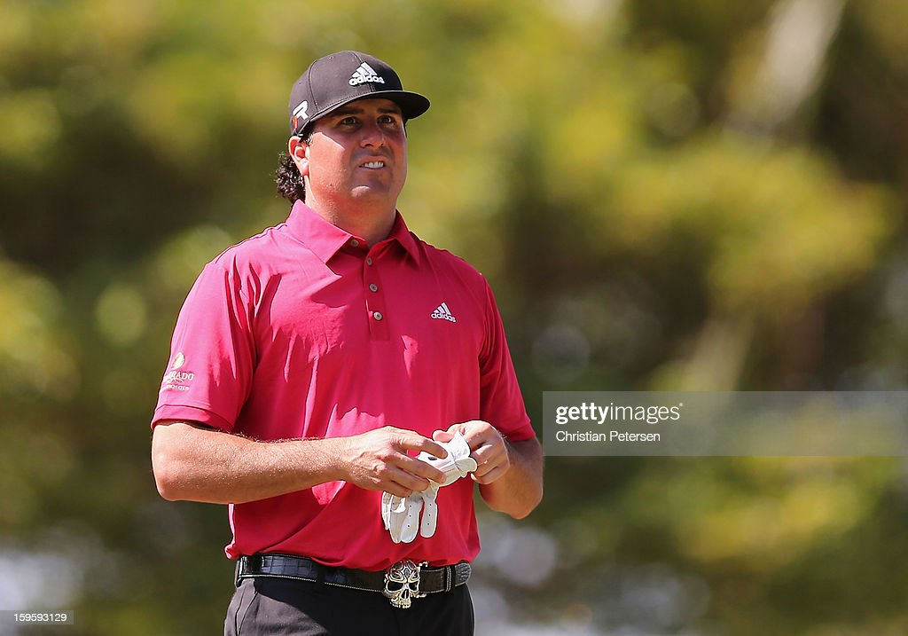 Pat Perez during the final round of the Sony Open in Hawaii at Waialae Country Club on January 13, 2013 in Honolulu, Hawaii.