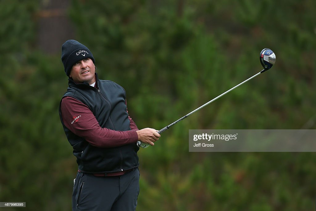 <a gi-track='captionPersonalityLinkClicked' href=/galleries/search?phrase=Pat+Perez&family=editorial&specificpeople=235393 ng-click='$event.stopPropagation()'>Pat Perez</a> hits a tee shot during the third round of the AT&T Pebble Beach National Pro-Am at the Spyglass Hill Golf Course on February 8, 2014 in Pebble Beach, California.