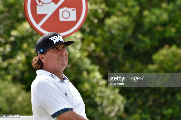 Pat Perez of USA in action during the CIMB Classic 2017 day 4 on October 15 2017 at TPC Kuala Lumpur Malaysia