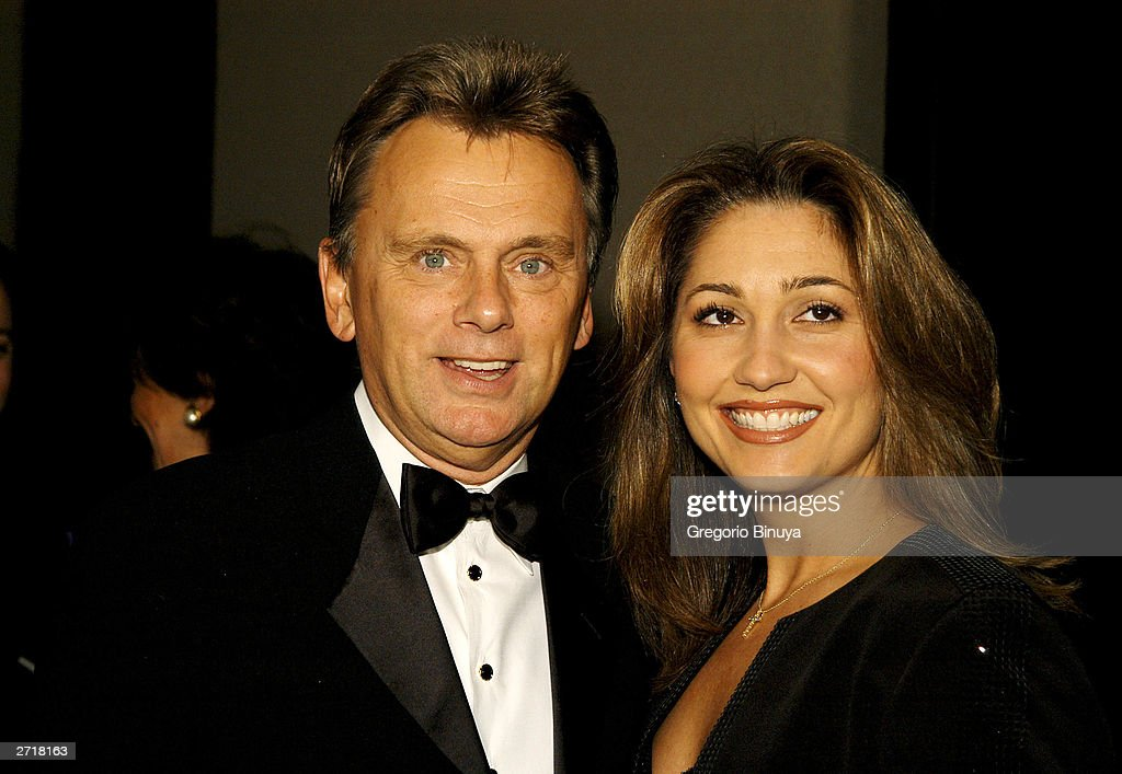 Pat Sajak and wife Lesley attend the 13th Annual Broadcasting & Cable Magazine Hall of Fame November 10, 2003, in New York. Sajak is a new inductee at the gala.