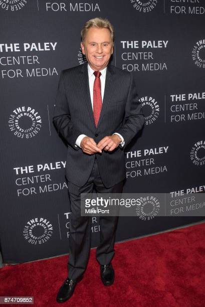 Pat Sajak attends The Paley Center For Media Presents Wheel Of Fortune 35 Years As America's Game at The Paley Center for Media on November 15 2017...