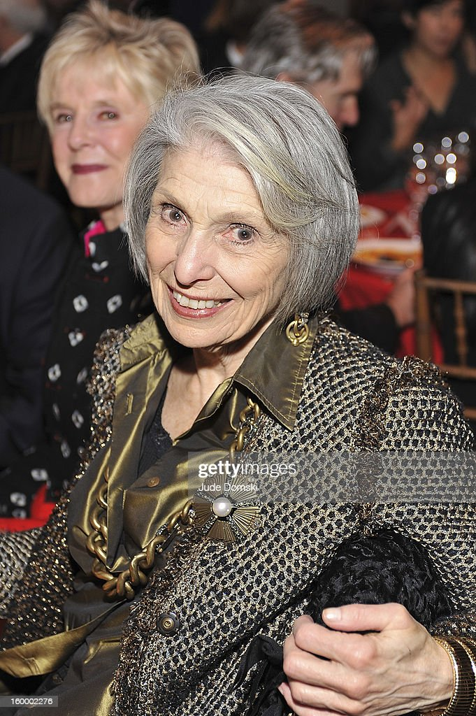 Pat Schoenfeld, the widow of Broadway theater owner and producer Gerald Schoenfeld, attends the 2013 BAM Theater Gala at Brooklyn Academy of Music on January 24, 2013 in the Brooklyn borough of New York City.