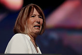 Pat Smith mother of Sean Smith one of the four Americans killed in the September 11 2012 terror attack on the US Consulate in Benghazi Libya delivers...