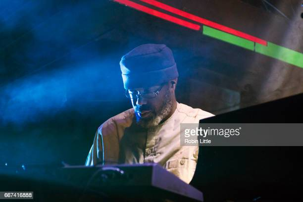 Pat Thomas of Black Top performs at The Jazz Cafe on April 11 2017 in London United Kingdom